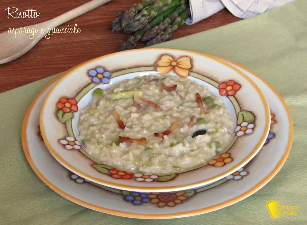 ricette con asparagi risotto asparagi guanciale ricetta facile e saporita il chicco di mais