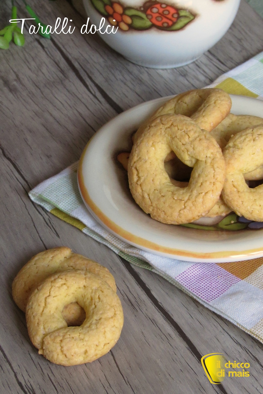 Ricetta taralli dolci pasquali napoletani