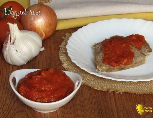 Bagnet ross: salsa per bollito al pomodoro