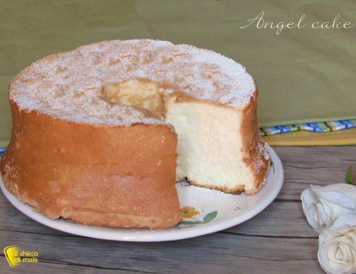 Angel cake: la torta di soli albumi