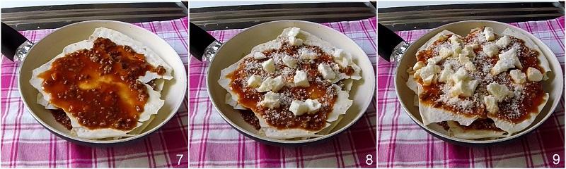 lasagne di carasau in padella ricetta veloce il chicco di mais 3 fare il terzo strato