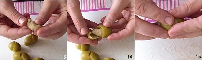 olive ascolane ricetta originale marchigiana anche senza glutine il chicco di mais 5 farcire le olive all'ascolana