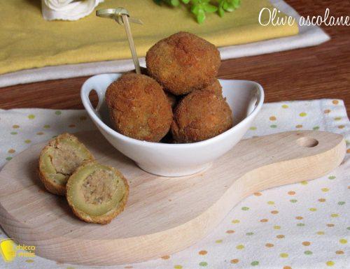 Olive ascolane, ricetta marchigiana