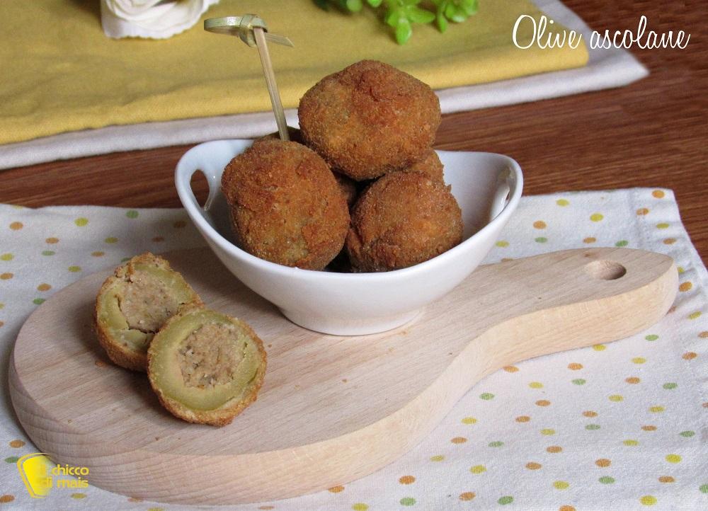 olive ascolane ricetta originale marchigiana anche senza glutine il chicco di mais