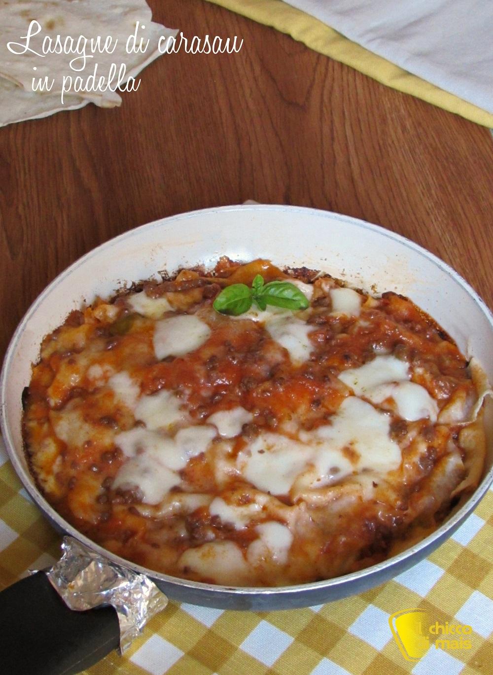 verticale_lasagne di carasau in padella ricetta veloce il chicco di mais