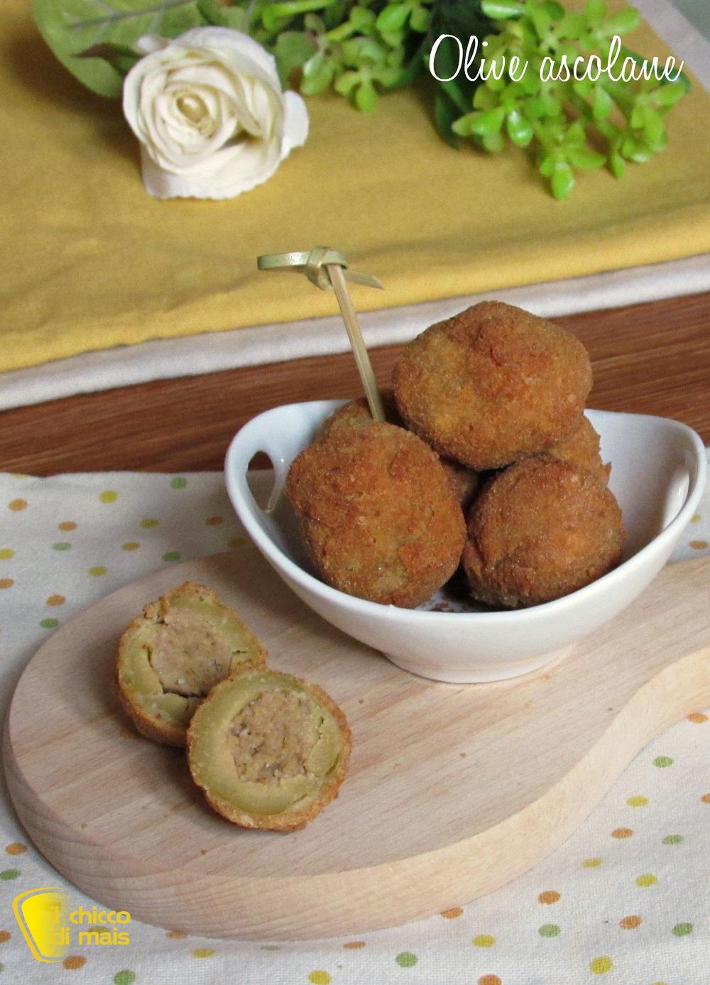 verticale_olive ascolane ricetta originale marchigiana anche senza glutine il chicco di mais