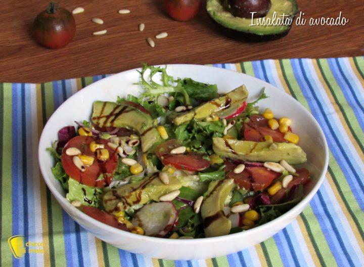Insalata di avocado ricetta light e gustosa il chicco di mais