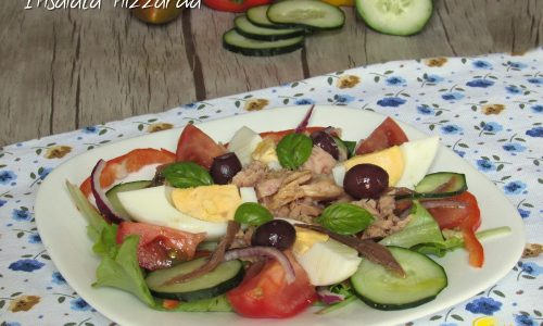 Salade niçoise, insalata nizzarda