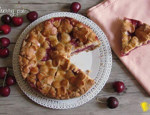 Cherry pie, crostata di ciliegie americana