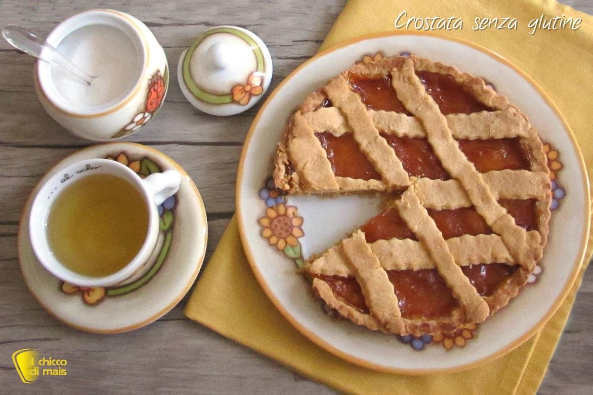 Crostata senza glutine che non si sbriciola ricetta il chicco di mais - Finestra che non si chiude ...