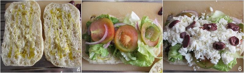 panino alla greca con feta ricetta facile estiva il chicco di mais 2 farcire il panino