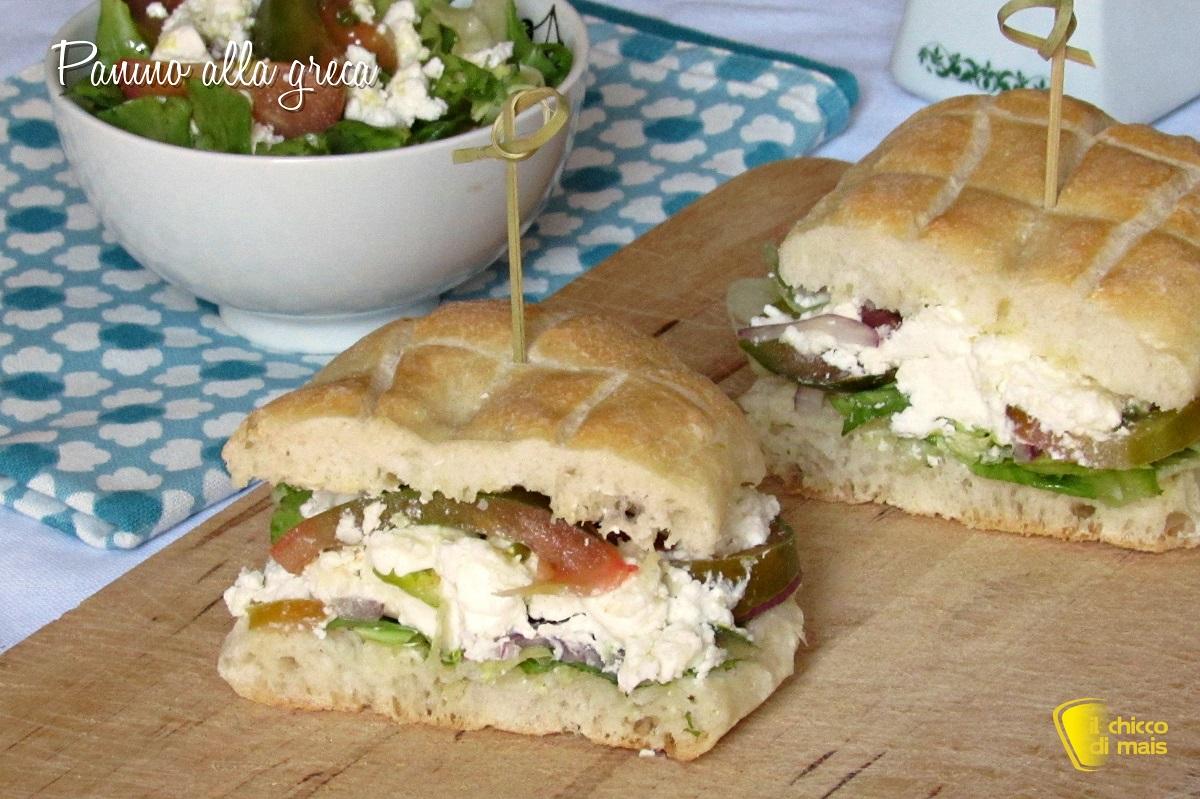 panini farciti panino alla greca con feta ricetta facile estiva il chicco di mais