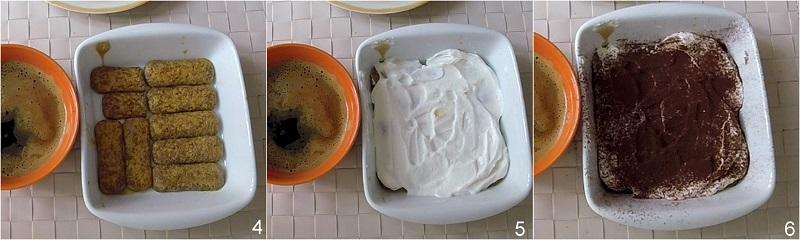 tiramisù alla ricotta leggero senza uova crude ricetta facile il chicco di mais 2 biscotti nel caffè