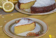 Torta caprese al limone