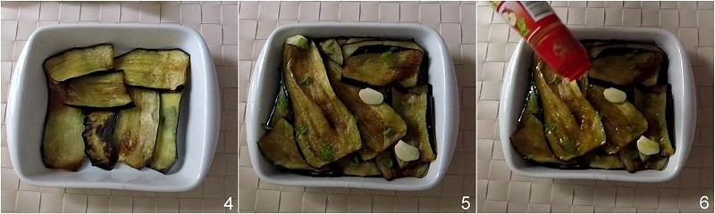 Melanzane alla scapece ricetta napoletana facile con video il chicco di mais 2 condire le melanzane fritte