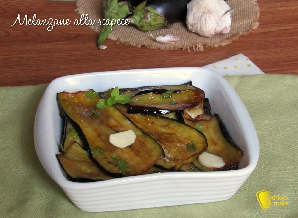 ricette con melanzane Melanzane alla scapece ricetta napoletana facile con video il chicco di mais