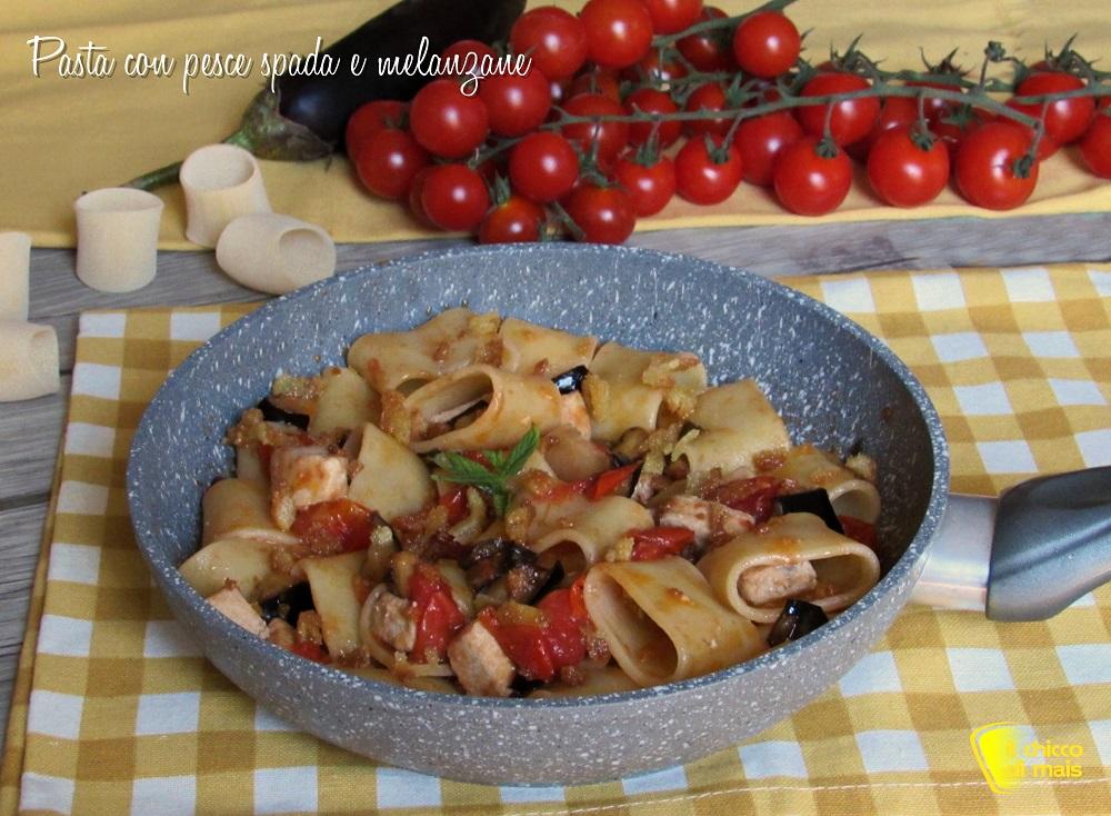 Pasta Con Pesce Spada Melanzane Mollica Ricetta Siciliana Chicco