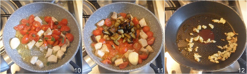 Pasta con pesce spada e melanzane ricetta siciliana facile e gustosa il chicco di mais 4 unire i pomodorini