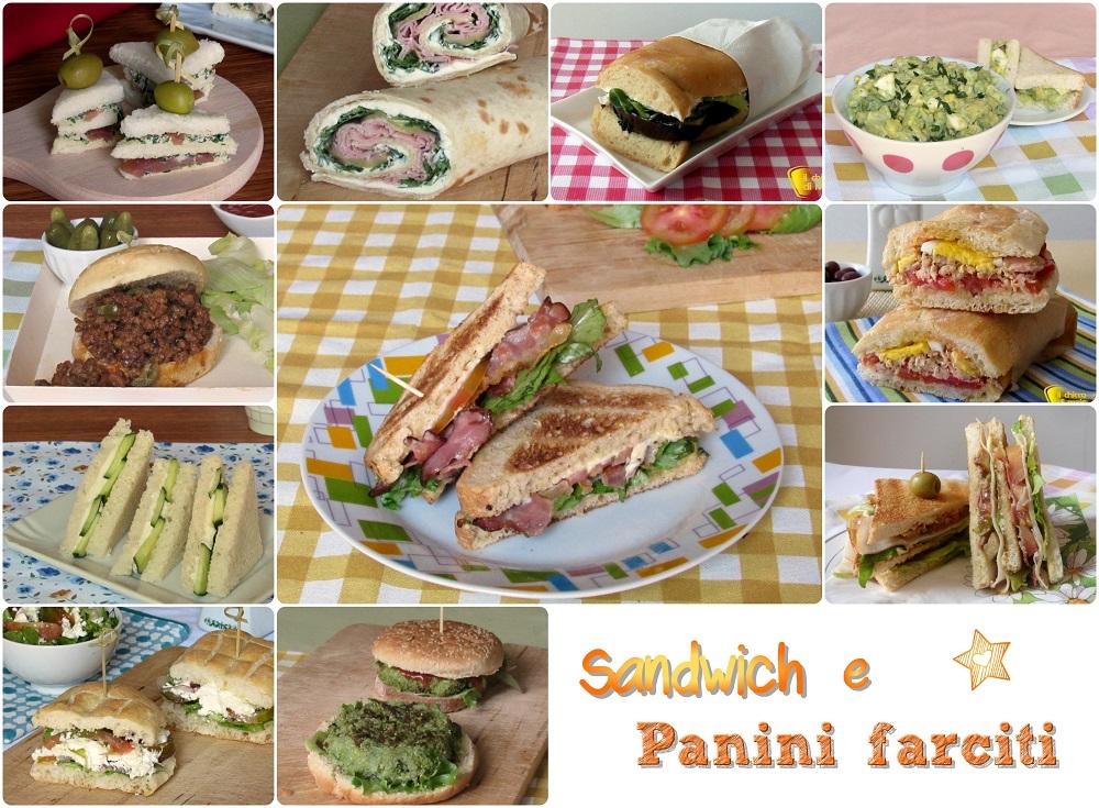 Raccolta di sandwich e panini farciti tramezzini golosi ricette facili il chicco di mais