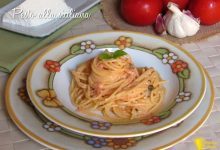 Pasta con pesto alla siciliana (con ricotta)