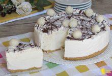 Torta gelato al cocco e cioccolato