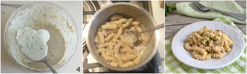 Pasta con crema di tonno o pasta tonnata ricetta facile e veloce il chicco di mais 2 condire la pasta