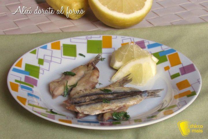 alici dorate al forno ricetta light alici infarinate e cotte in forno il chicco di mais