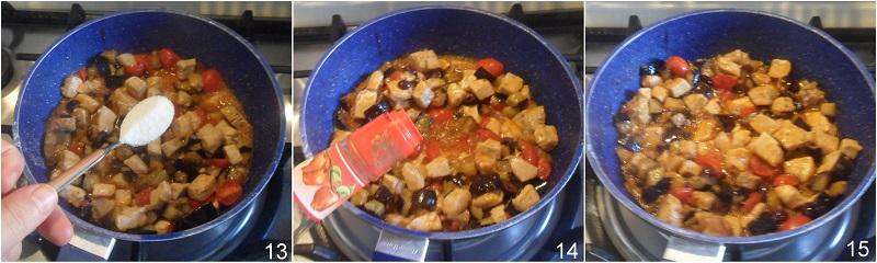caponata di pesce spada con melanzane ricetta siciliana facile agrodolce il chicco di mais 5 condire la caponata