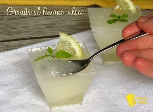 dolci senza forno granita al limone veloce ricetta sgroppino al limone digestivo il chicco di mais