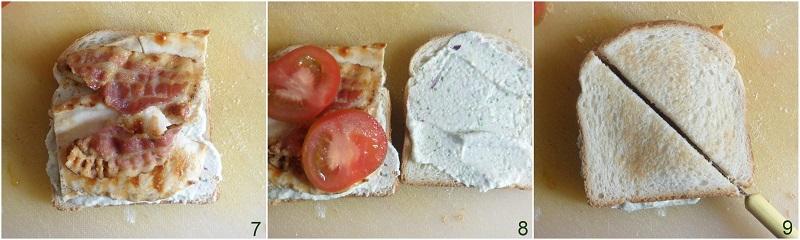 sandwich al pollo con bacon e crema di feta ricetta il chicco di mais 3 formare il panino