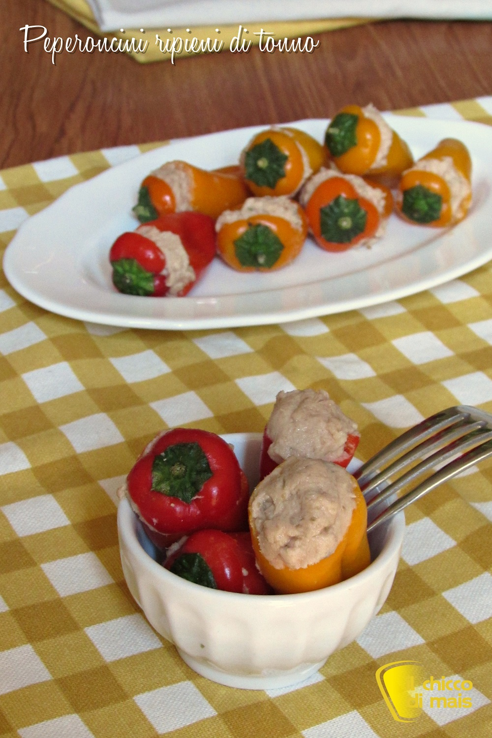 verticale_peperoncini ripieni di tonno ricetta con peperoncini dolci o piccanti il chicco di mais