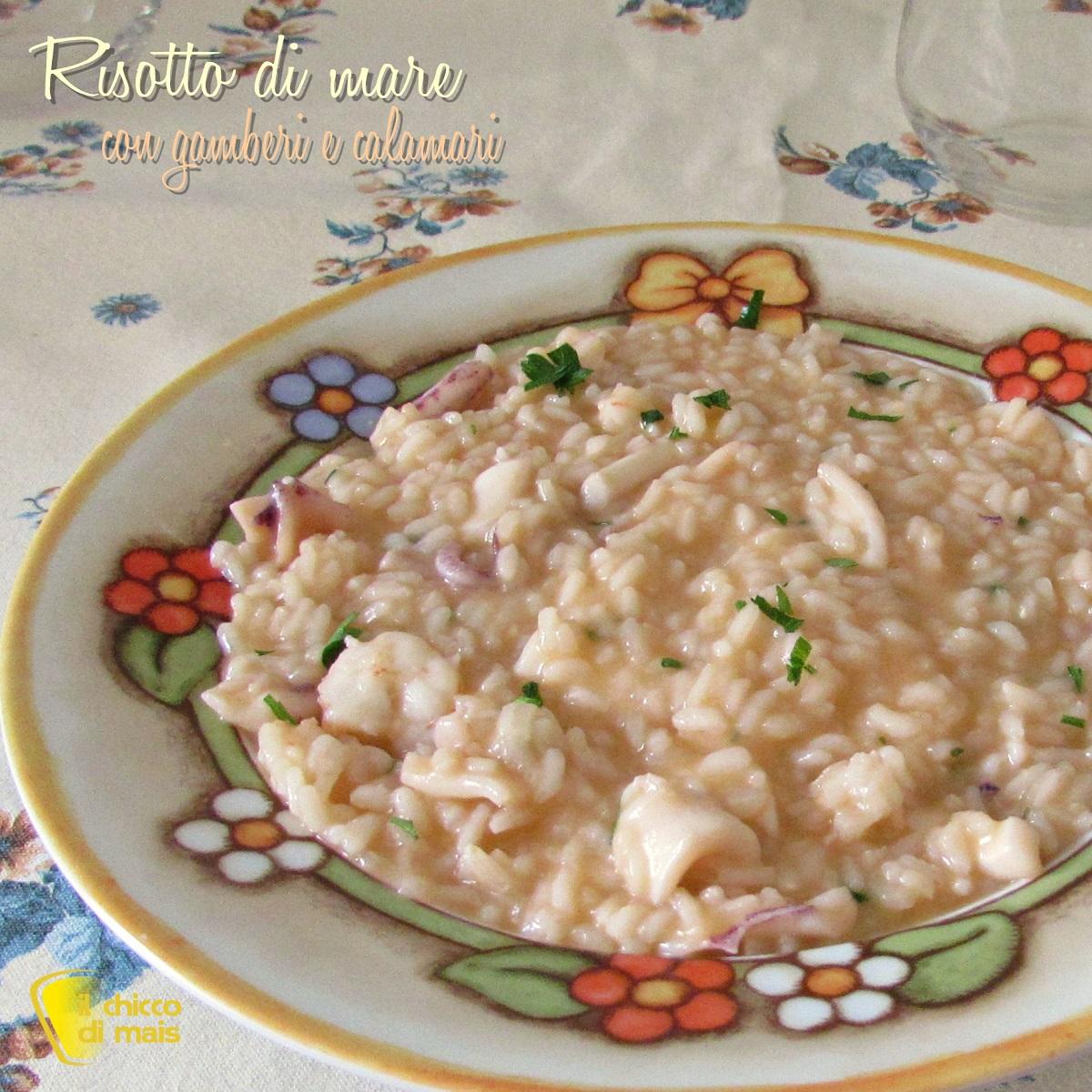 quadrata_risotto di mare con gamberi e calamari ricetta risotto di pesce cremoso e saporito il chicco di mais