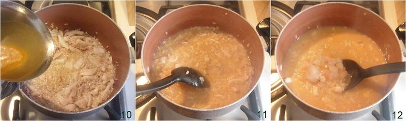 risotto di mare con gamberi e calamari ricetta risotto di pesce cremoso e saporito il chicco di mais 4 cuocere il riso