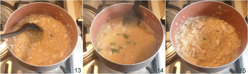 risotto di mare con gamberi e calamari ricetta risotto di pesce cremoso e saporito il chicco di mais 5 mantecare il riso