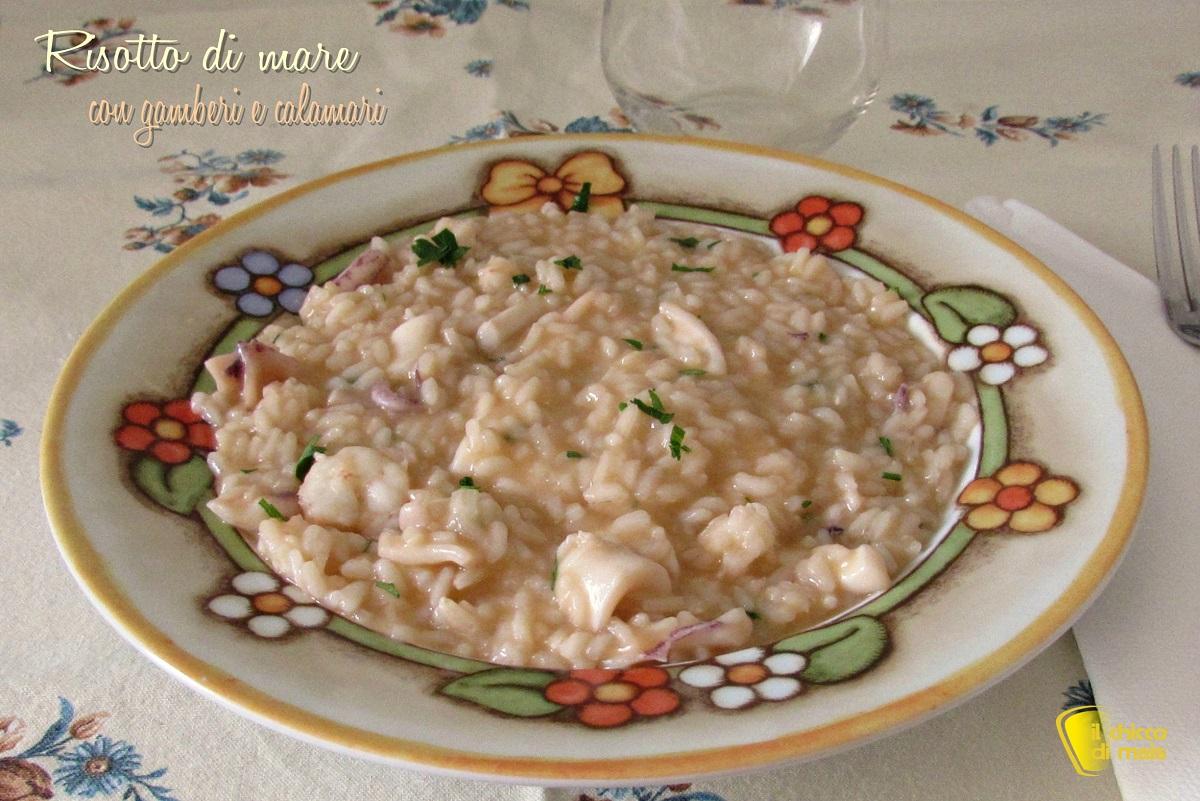 risotto di mare con gamberi e calamari ricetta risotto di pesce cremoso e saporito il chicco di mais