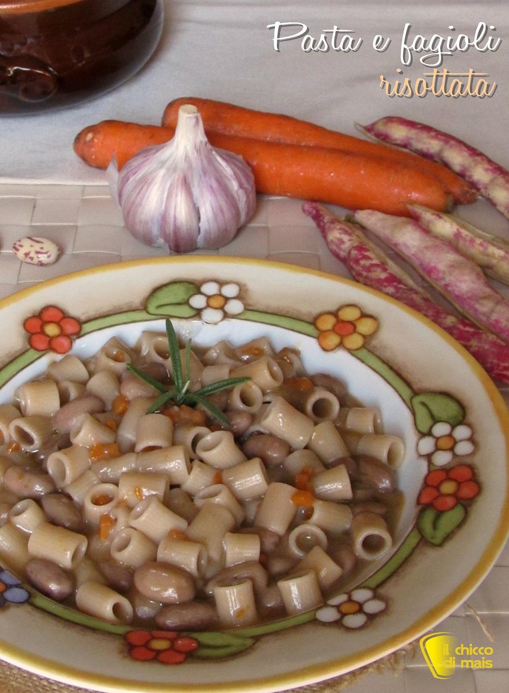 verticale_pasta e fagioli risottata ricetta facile pasta e fagioli cremosa senza frullare il chicco di mais