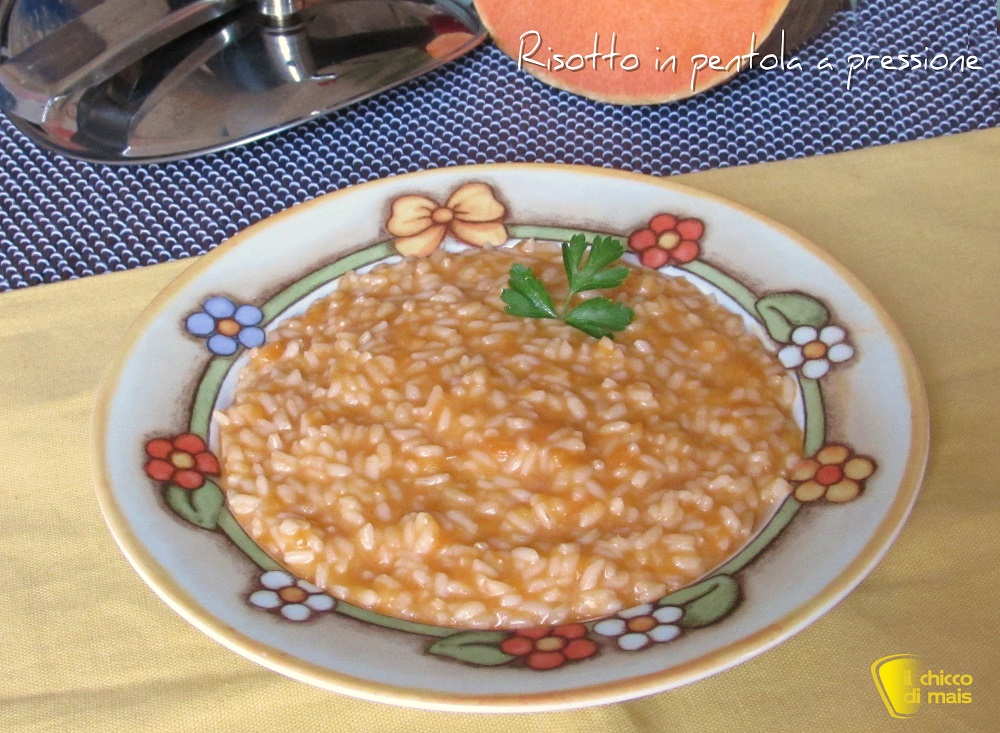 risotto in pentola a pressione ricetta veloce tempi cottura riso in pentola a pressione il chicco di mais