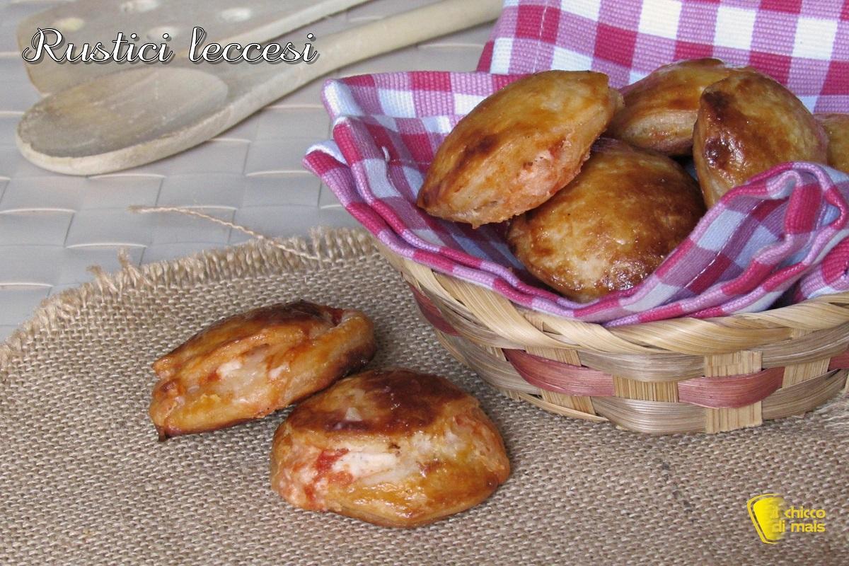rustici leccesi ricetta originale pugliese anche senza glutine il chicco di mais