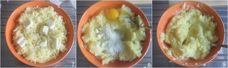 Gattò di patate e funghi con mozzarella filante ricetta il chicco di mais 3 fare l'impasto del gateau