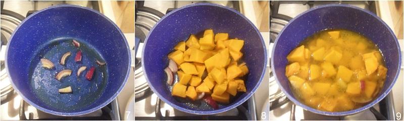 crema di zucca con speck croccante ricetta vellutata di zucca densa e cremosa il chicco di mais 3 cuocere la vellutata