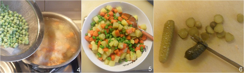 insalata russa senza maionese senza uova ricetta light leggera per natale il chicco di mais 2 lessare le verdure
