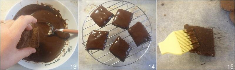 Mostaccioli morbidi napoletani ricetta tradizionale e senza glutine il chicco di mais 5 coprire i mostaccioli di cioccolato