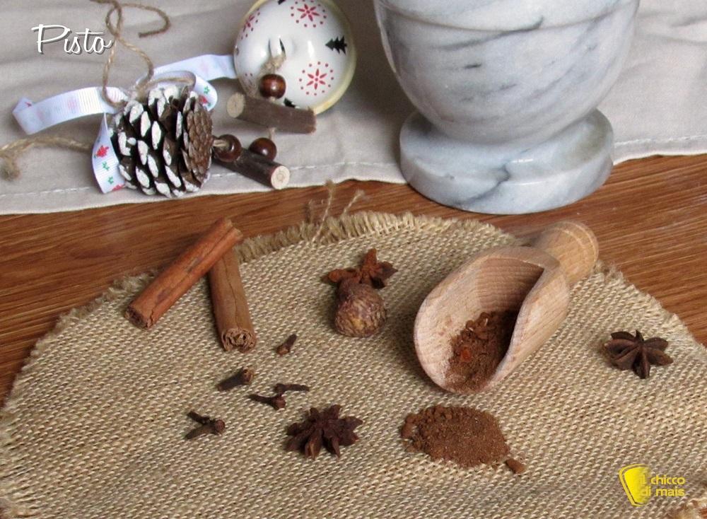 come preparare il pisto napoletano mix di spezie per mostaccioli e rococo ricetta il chicco di mais