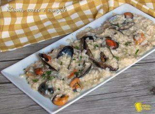 risotto cozze e vongole ricetta risotto di pesce facile economico il chicco di mais
