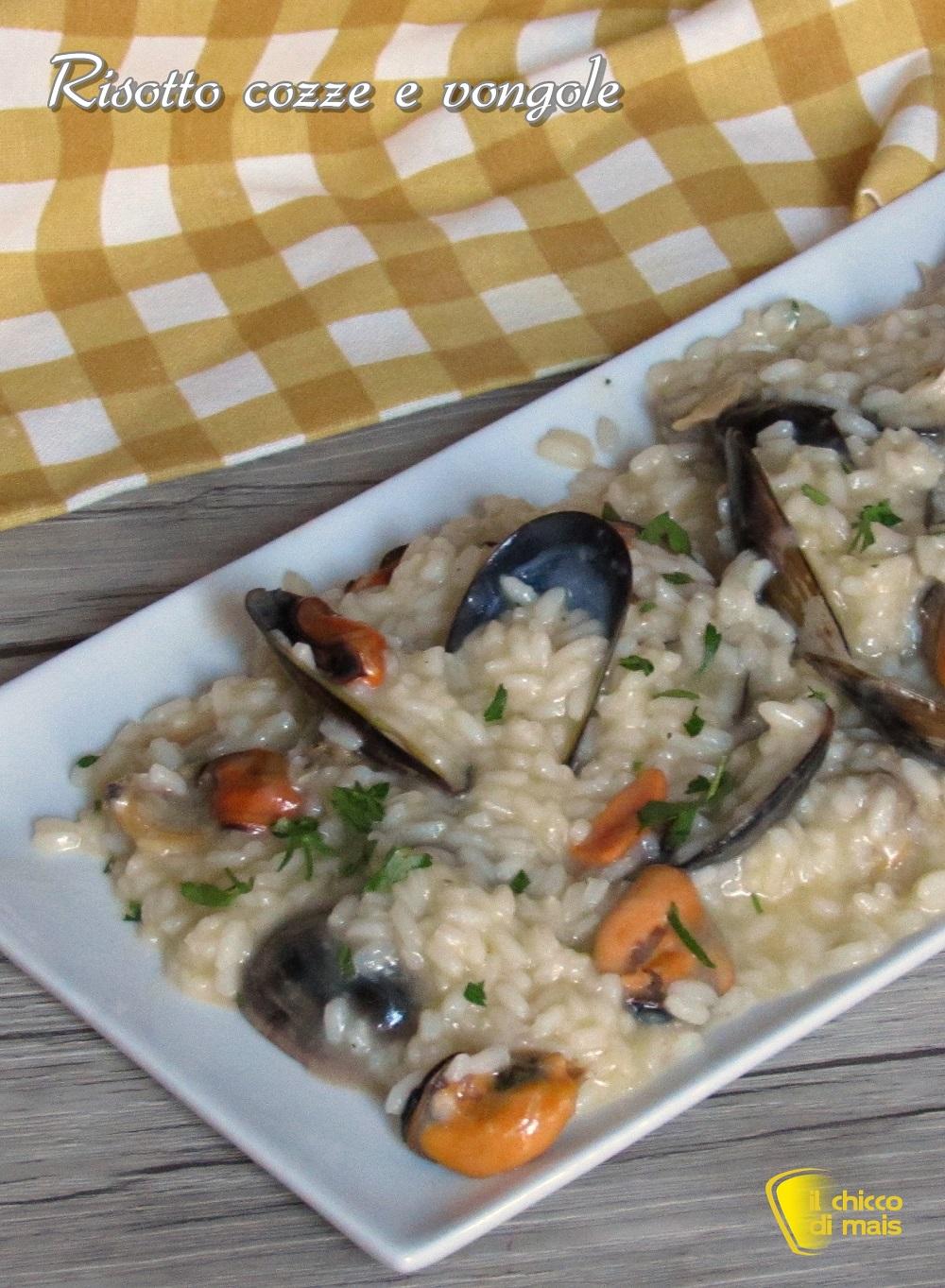 verticale_risotto cozze e vongole ricetta risotto di pesce facile economico il chicco di mais
