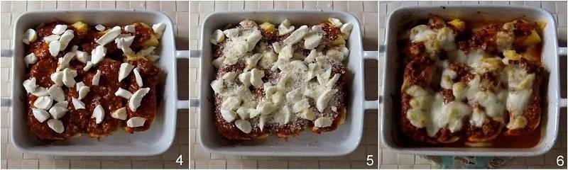 Polenta gratinata al forno con ragù e mozzarella ricetta riciclare polenta avanzata il chicco di mais 2 gratinare la polenta