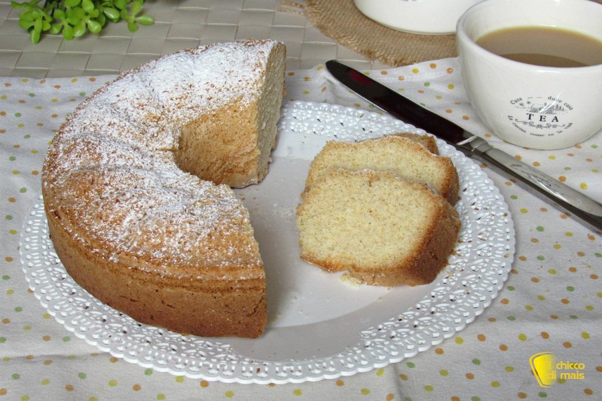 ciambellone semplice leggero e genuino ricetta senza burro senza lattosio senza glutine il chicco di mais