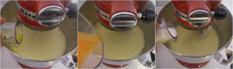 schiacciata fiorentina ricetta dolce di carnevale soffice il chicco di mais 2 unire i liquidi