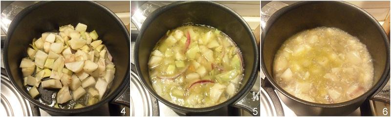 vellutata di topinambur con carciofi croccanti ricetta light senza patate il chicco di mais 2 cuocere il topinambur