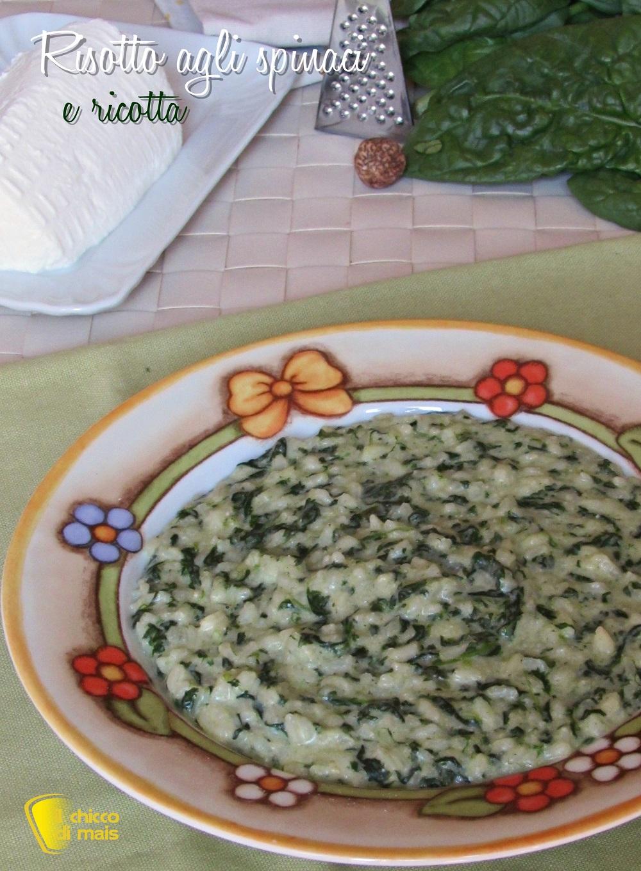 verticale_risotto agli spinaci e ricotta ricetta facile il chicco di mais